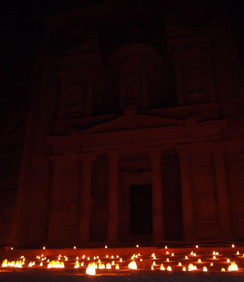 Catharina Stam Petra by night