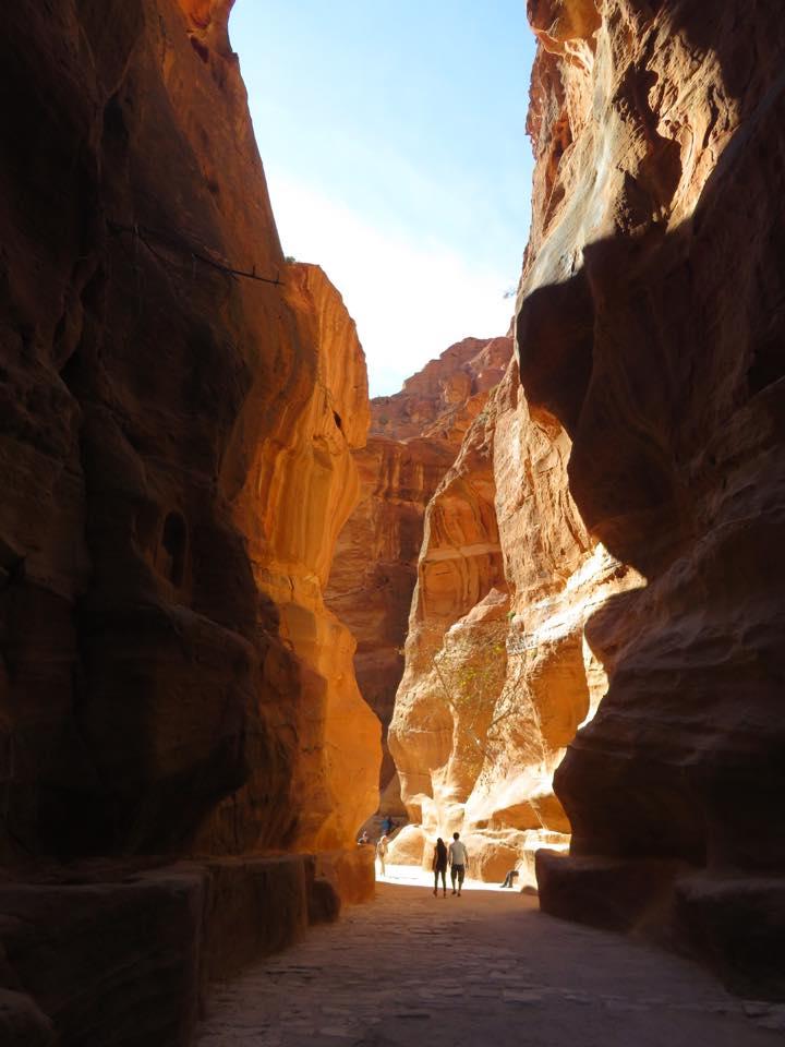 Kera Pethybridge - walk to Petra