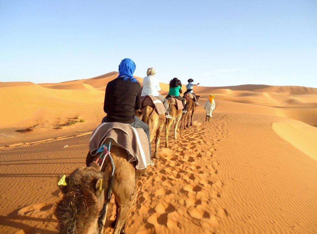 Camel trek_Morocco