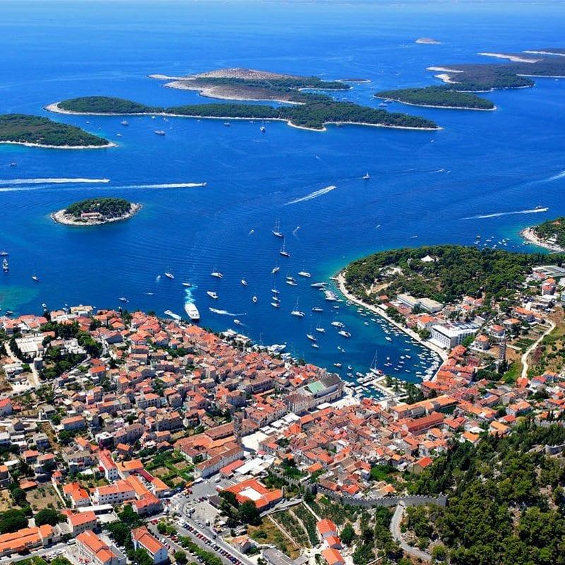 Sail Dubrovnik to Split-Below Deck